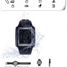 100M Waterproof Multifunctional LED Watch