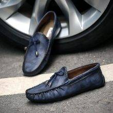 Premium Men Flat Leather Loafers Shoe
