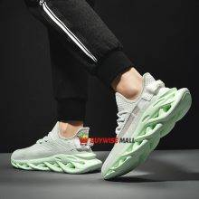 Elastic Knit Breathable Running Sneakers