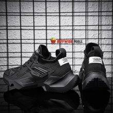 Hardcore Breathable Leather Running Sneakers