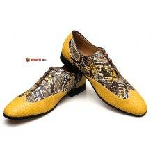 Meijiana Brand Leather Business Oxfords Shoes