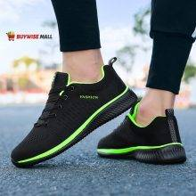 Lightweight Casual Mesh Breathable Sneakers Footwear MEN Color : Black|Green|Red