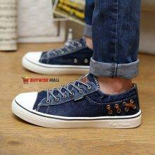 Spring Summer Breathable Jean Canvas Sneakers