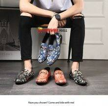 Embroidery Comfortable Loafers Shoes
