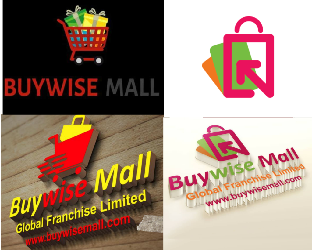 Buywise Mall old and new logos